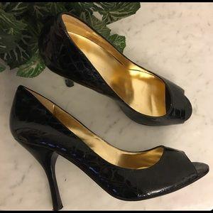 "Enzo Angiolini Peep Toe Heel Size 8.5M ""Maylie"""